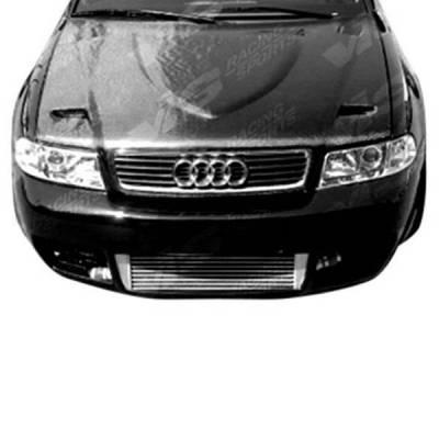 VIS Racing - Carbon Fiber Hood Euro R Style for AUDI A4 4DR 02-05 - Image 2