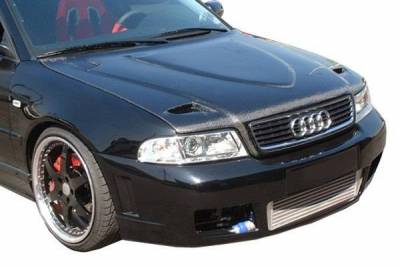 VIS Racing - Carbon Fiber Hood Euro R Style for AUDI A4 4DR 96-01 - Image 2