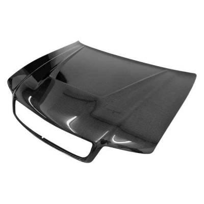 VIS Racing - Carbon Fiber Hood Invader Style for AUDI A4 4DR 96-01 - Image 2