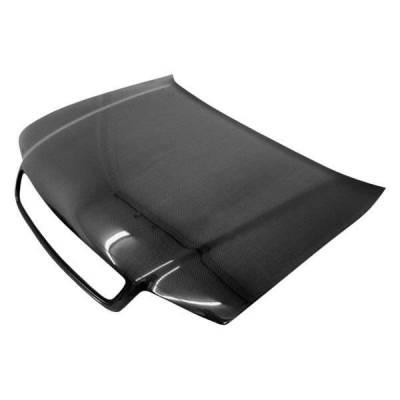 VIS Racing - Carbon Fiber Hood OEM Style for AUDI A4 4DR 96-01 - Image 1