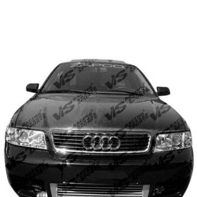 VIS Racing - Carbon Fiber Hood OEM Style for AUDI A4 4DR 96-01 - Image 2