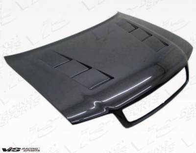VIS Racing - Carbon Fiber Hood Terminator Style for AUDI A4 4DR 96-01 - Image 1