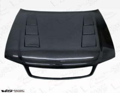 VIS Racing - Carbon Fiber Hood Terminator Style for AUDI A4 4DR 96-01 - Image 2