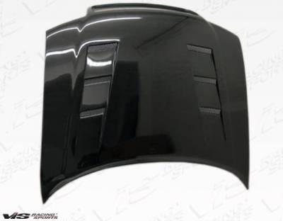 VIS Racing - Carbon Fiber Hood Terminator Style for AUDI A4 4DR 96-01 - Image 3