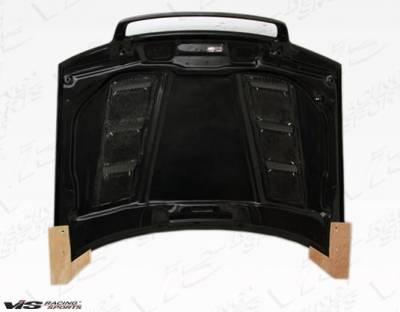 VIS Racing - Carbon Fiber Hood Terminator Style for AUDI A4 4DR 96-01 - Image 4