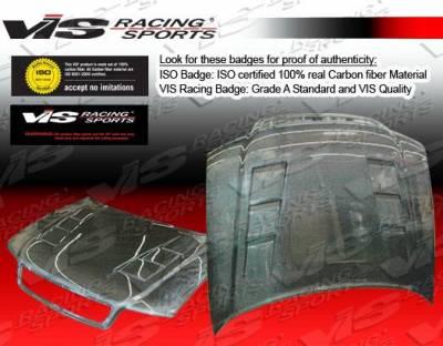 VIS Racing - Carbon Fiber Hood Terminator Style for AUDI A4 4DR 96-01 - Image 5