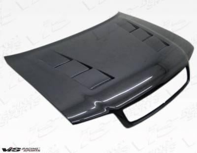VIS Racing - Carbon Fiber Hood Terminator Style for AUDI S4 4DR 98-02 - Image 1