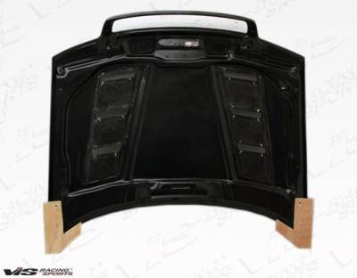 VIS Racing - Carbon Fiber Hood Terminator Style for AUDI S4 4DR 98-02 - Image 4