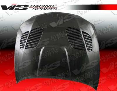 VIS Racing - Carbon Fiber Hood GTR Style for BMW 1 SERIES(E82) 2DR 08-12 - Image 2