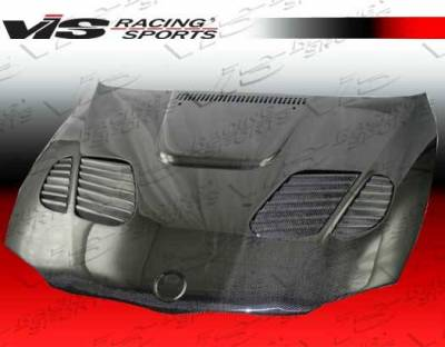 VIS Racing - Carbon Fiber Hood GTR Style for BMW 1 SERIES(E82) 2DR 08-12 - Image 3