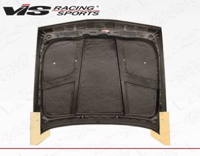 VIS Racing - Carbon Fiber Hood GTR Style for BMW 3 SERIES(E30) 2DR & 4DR 84-91 - Image 4