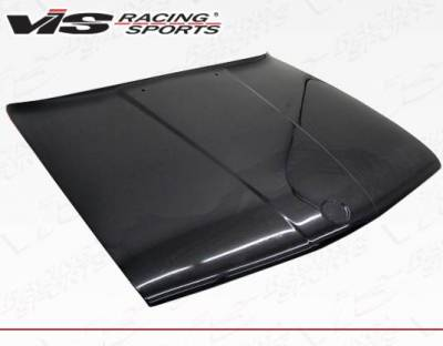 VIS Racing - Carbon Fiber Hood OEM Style for BMW 3 SERIES(E30) 2DR & 4DR 84-91 - Image 1