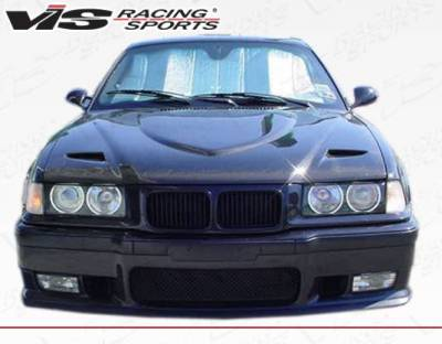 VIS Racing - Carbon Fiber Hood Euro R Style for BMW 3 SERIES(E36) 2DR 92-98 - Image 3