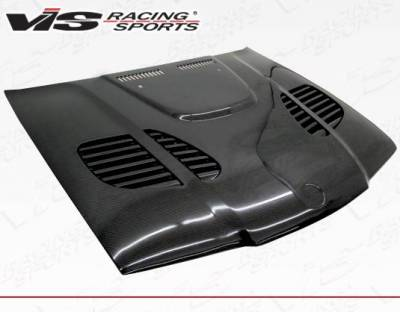 VIS Racing - Carbon Fiber Hood GTR Style for BMW 3 SERIES(E36) 4DR 92-98 - Image 1