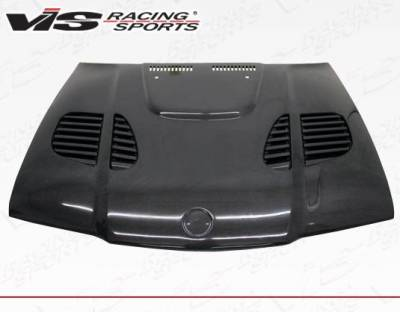 VIS Racing - Carbon Fiber Hood GTR Style for BMW 3 SERIES(E36) 4DR 92-98 - Image 3
