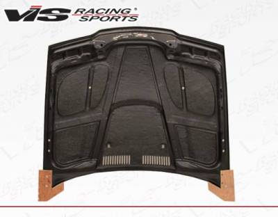 VIS Racing - Carbon Fiber Hood GTR Style for BMW 3 SERIES(E36) 4DR 92-98 - Image 4