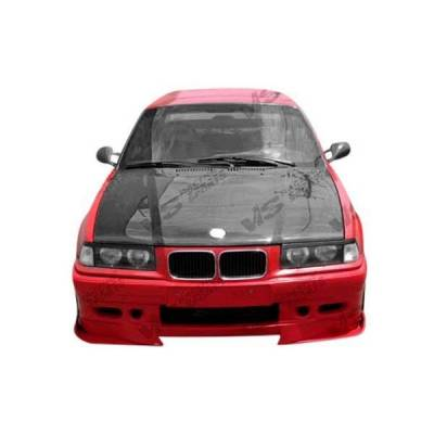 VIS Racing - Carbon Fiber Hood OEM Style for BMW 3 SERIES(E36) 2DR 92-98 - Image 2