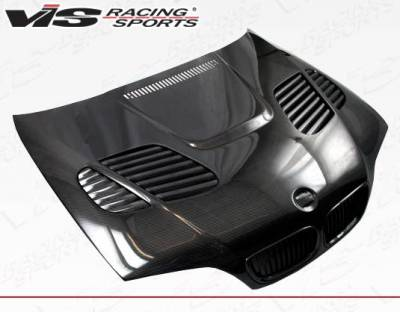VIS Racing - Carbon Fiber Hood GTR Style for BMW 3 SERIES(E46) 4DR 02-05 - Image 1