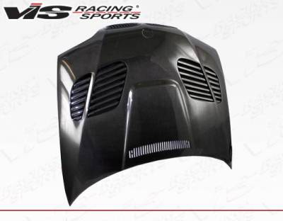 VIS Racing - Carbon Fiber Hood GTR Style for BMW 3 SERIES(E46) 4DR 02-05 - Image 3
