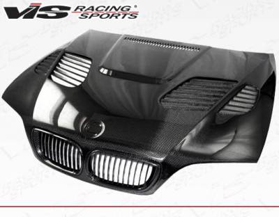 VIS Racing - Carbon Fiber Hood GTR Style for BMW 3 SERIES(E46) 4DR 02-05 - Image 4