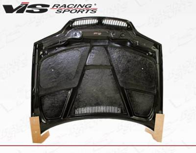 VIS Racing - Carbon Fiber Hood GTR Style for BMW 3 SERIES(E46) 4DR 02-05 - Image 5