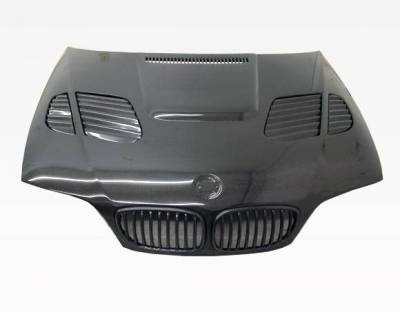 VIS Racing - Carbon Fiber Hood GTR Style for BMW 3 SERIES(E46) 2DR 04-05 - Image 3