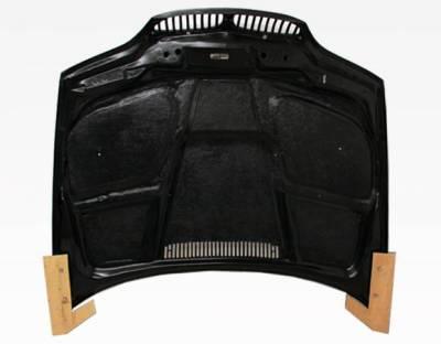 VIS Racing - Carbon Fiber Hood GTR Style for BMW 3 SERIES(E46) 2DR 04-05 - Image 5
