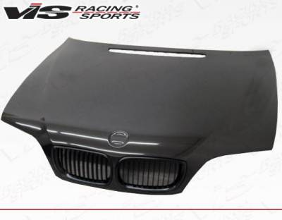 VIS Racing - Carbon Fiber Hood OEM Style for BMW 3 SERIES(E46) 4DR 02-05 - Image 1