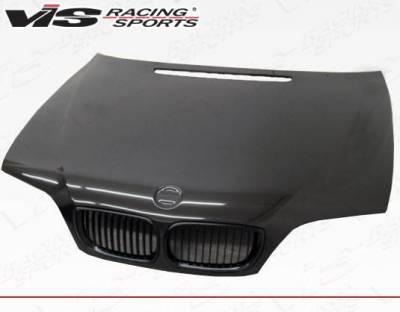VIS Racing - Carbon Fiber Hood OEM Style for BMW 3 SERIES(E46) 4DR 02-05 - Image 2