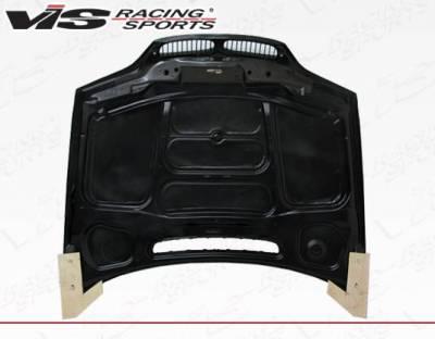 VIS Racing - Carbon Fiber Hood OEM Style for BMW 3 SERIES(E46) 4DR 02-05 - Image 4