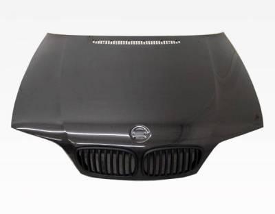VIS Racing - Carbon Fiber Hood OEM Style for BMW 3 SERIES(E46) 2DR 04-05 - Image 3