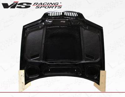 VIS Racing - Carbon Fiber Hood XTS Style for BMW 3 SERIES(E46) 2DR 99-03 - Image 4