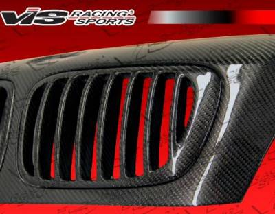 VIS Racing - Carbon Fiber Hood XTS Style for BMW 3 SERIES(E46) 2DR 99-03 - Image 5