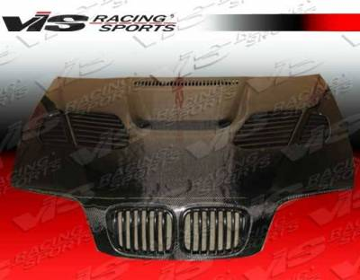 VIS Racing - Carbon Fiber Hood GTR Style for BMW 3 SERIES(E46) 4DR 99-01 - Image 3