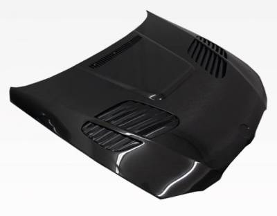 VIS Racing - Carbon Fiber Hood GTR Style for BMW 3 SERIES(E92) 2DR 07-10 - Image 1