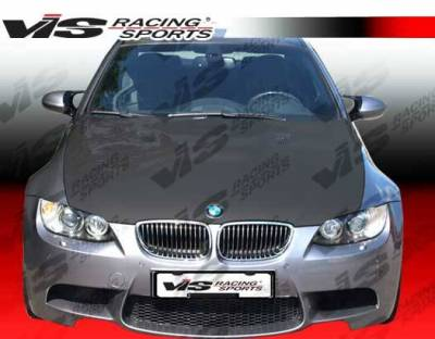 VIS Racing - Carbon Fiber Hood M3 Style for BMW 3 SERIES(E92) 2DR 07-10 - Image 2