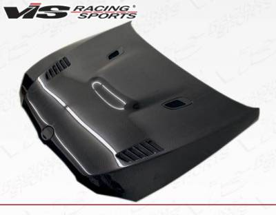 VIS Racing - Carbon Fiber Hood XTS Style for BMW 3 SERIES(E92) 2DR 07-10 - Image 1