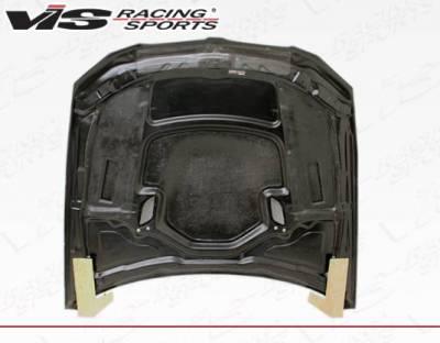 VIS Racing - Carbon Fiber Hood XTS Style for BMW 3 SERIES(E92) 2DR 07-10 - Image 4