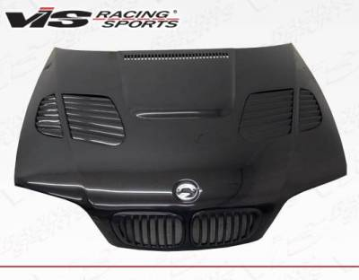 VIS Racing - Carbon Fiber Hood GTR Style for BMW 3 SERIES(M3) 2DR 01-06 - Image 1