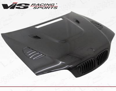 VIS Racing - Carbon Fiber Hood XTS Style for BMW 3 SERIES(M3) 2DR 01-06 - Image 2