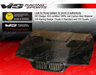 VIS Racing - Carbon Fiber Hood GTR Style for BMW 5 SERIES(E39) 4DR 97-03 - Image 3