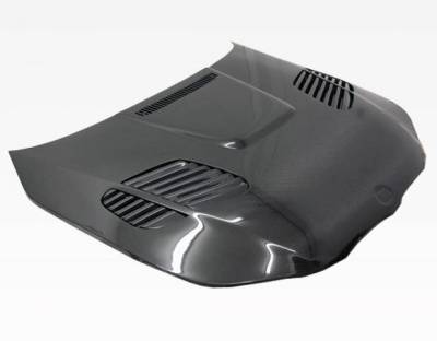 VIS Racing - Carbon Fiber Hood GTR Style for BMW 5 SERIES(E60) 4DR 04-10 - Image 1