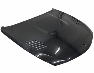 VIS Racing - Carbon Fiber Hood XTS Style for BMW 6 SERIES(E63) 2DR 03-10 - Image 1