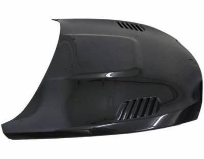 VIS Racing - Carbon Fiber Hood XTS Style for BMW 6 SERIES(E63) 2DR 03-10 - Image 3