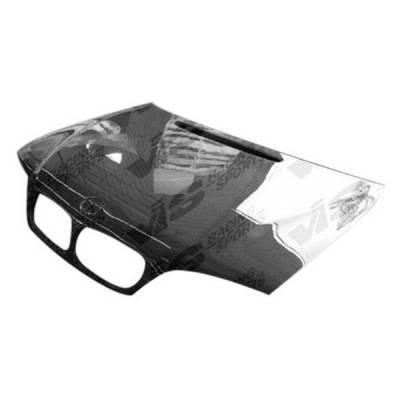 VIS Racing - Carbon Fiber Hood OEM Style for BMW E36-E46 Conv. 4DR 92-98 - Image 1