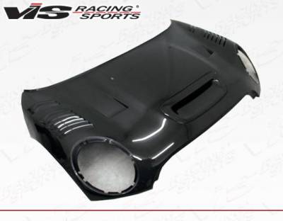 VIS Racing - Carbon Fiber Hood DTM Style for BMW Mini Cooper Convertible 09-14 - Image 2