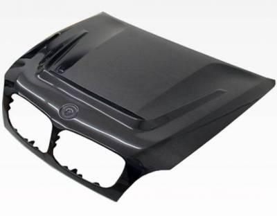 VIS Racing - Carbon Fiber Hood DTM Style for BMW X6 (E71) 4DR 08-13 - Image 1