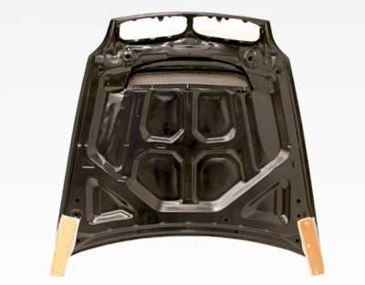 VIS Racing - Carbon Fiber Hood DTM Style for BMW X6 (E71) 4DR 08-13 - Image 4