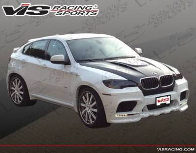 VIS Racing - Carbon Fiber Hood EVO GT Style for BMW X6 (E71) 4DR 08-13 - Image 2