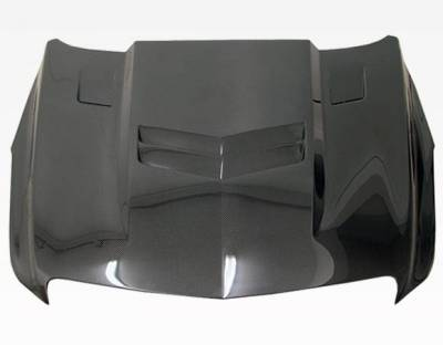 VIS Racing - Carbon Fiber Hood OEM Style for Cadillac ATS 4DR 2013-2015 - Image 2